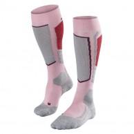 Falke SK2 Wool ski socks, women, pink