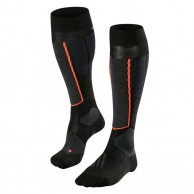 Falke ST4 ski socks, women, black