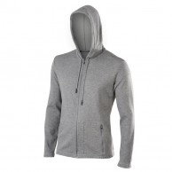 Falke Flight Hoody, men, grey