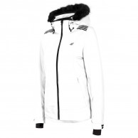 4F Diana womens ski jacket, white