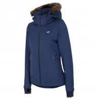 4F Diana womens ski jacket, blue