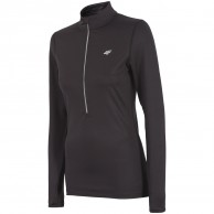 4F QuickDry fleecepulli,womens, black