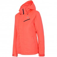 4F Gretha womens ski jacket, coral