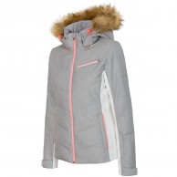 4F Marina womens ski jacket, grey