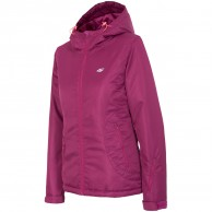 4F Britt womens ski jacket, pink
