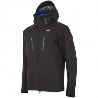 4F Bertil, ski jacket, men, black