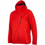 4F Leslie ski jacket, mens, red