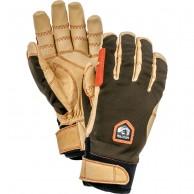 Hestra Ergo Grip Active ski gloves, mens, dark forest