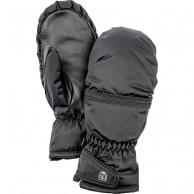 Hestra Primaloft Leather mitten, women, black