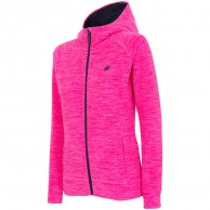 4F Warm Hoodie, women, pink