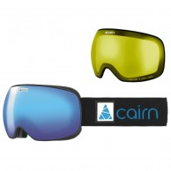 Cairn Gravity, goggles, mat black blue