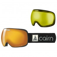 Cairn Gravity, goggles, mat black gold