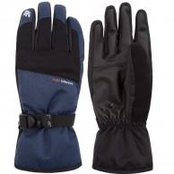 4F Liam, ski gloves, men, navy
