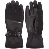 4F Liam, ski gloves, men, black