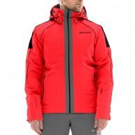 DIEL St. Moritz mens ski jacket, red