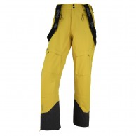 Kilpi Lazzaro, mens shell pants, yellow