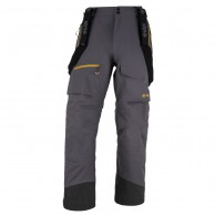 Kilpi Hyde, mens shell pants, dark grey