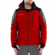 DIEL Méribel mens ski jacket, red
