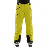 DIEL Ischgl mens ski pants, yellow