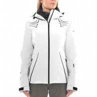 DIEL Madonna di C. ski jacket, women, white