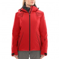 DIEL Madonna di C. ski jacket, women, red
