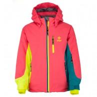 Kilpi Kally-JB, ski jacket, junior, pink