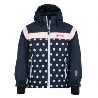 Kilpi Delis-JG, ski jacket, junior, dark blue