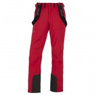 Kilpi Rhea-M soft shell ski pants, men, red
