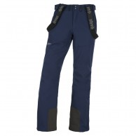 Kilpi Rhea-M soft shell ski pants, men, dark blue