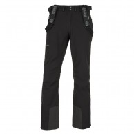 Kilpi Rhea-M soft shell ski pants, men, black