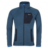 Kilpi Eris-M, fleece jacket, mens, blue