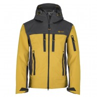Kilpi Hastar-M, mens ski jacket, yellow