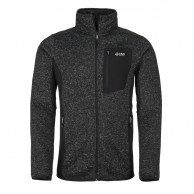 Kilpi Rigan-M midlayer, mens, dark grey