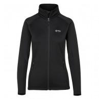 Kilpi Teamio-W, womens fleece jacket, black