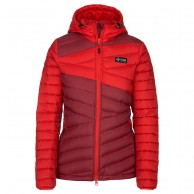 Kilpi Svalbard-W womens down jacket, red