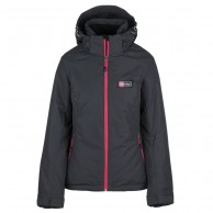 Kilpi Chip-W, womens ski jacket, dark grey