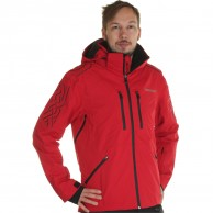 DIEL Aspen mens ski jacket, red