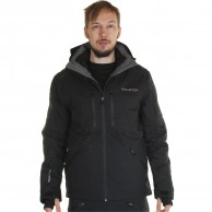 DIEL Aspen mens ski jacket, black