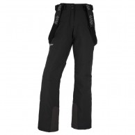 Kilpi Elare-W short, womens ski pants, black