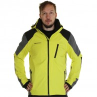 DIEL Méribel mens ski jacket, yellow