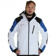 DIEL Méribel mens ski jacket, white