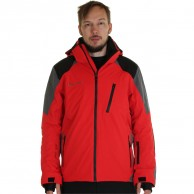 DIEL Méribel mens ski jacket, red