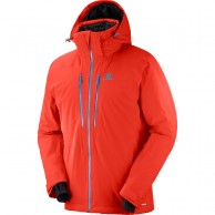 Salomon Icefrost JKT M, men's, red