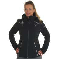 DIEL Madonna di C. ski jacket, women, black