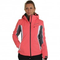 DIEL Crans-Montana, ski jacket, women, peach