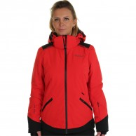 DIEL Zermatt. ski jacket, women, red