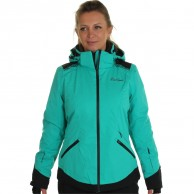 DIEL Zermatt. ski jacket, women, green