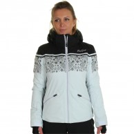 DIEL Sun Valley. ski jacket, women, swan/black