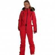 DIEL Ski Spirit ski overall, women, red