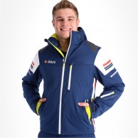 Deluni ski jacket, men, blue